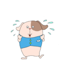 うざいぐらい挨拶代わりに告白するノボル(個別スタンプ:5)