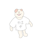 服を着たドッグ(個別スタンプ:37)