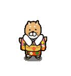 行事使い分けスタンプ(柴&パグ)(個別スタンプ:04)