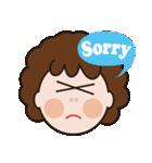 おちゃめなキヨコさん(個別スタンプ:02)