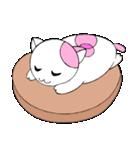 福猫の桜ちゃん(個別スタンプ:01)