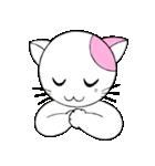 福猫の桜ちゃん(個別スタンプ:04)