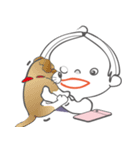 そらちゃんのスタンプ(個別スタンプ:01)