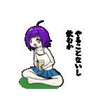 狂い咲き!!狂子ちゃん(個別スタンプ:03)