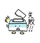 ふんわりティッシュくん(個別スタンプ:5)