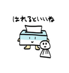 ふんわりティッシュくん(個別スタンプ:12)