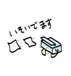 ふんわりティッシュくん(個別スタンプ:14)
