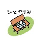 ふんわりティッシュくん(個別スタンプ:26)
