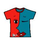 メッセージは、Tシャツで☆ ~基本編~(個別スタンプ:13)