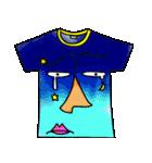 メッセージは、Tシャツで☆ ~基本編~(個別スタンプ:14)