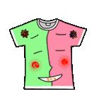 メッセージは、Tシャツで☆ ~基本編~(個別スタンプ:16)