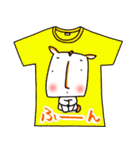 メッセージは、Tシャツで☆ ~基本編~(個別スタンプ:21)