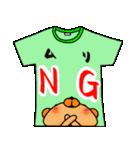 メッセージは、Tシャツで☆ ~基本編~(個別スタンプ:25)