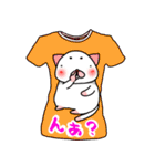 メッセージは、Tシャツで☆ ~基本編~(個別スタンプ:28)
