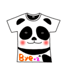 メッセージは、Tシャツで☆ ~基本編~(個別スタンプ:39)
