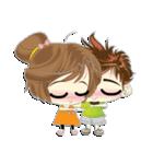 Cute Couple in Love.(個別スタンプ:19)