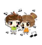 Cute Couple in Love.(個別スタンプ:24)