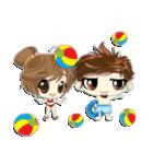Cute Couple in Love.(個別スタンプ:35)