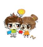 Cute Couple in Love.(個別スタンプ:40)