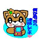 Lovely Puppy Vol.2 おりこう柴ちゃん(個別スタンプ:16)
