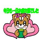 Lovely Puppy Vol.2 おりこう柴ちゃん(個別スタンプ:40)