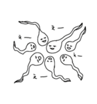 アルビノたまちゃん(個別スタンプ:20)