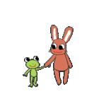 愛·癒しのウサギ1(個別スタンプ:1)
