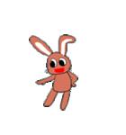愛·癒しのウサギ1(個別スタンプ:5)