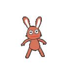 愛·癒しのウサギ1(個別スタンプ:6)