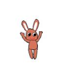 愛·癒しのウサギ1(個別スタンプ:7)