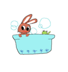 愛·癒しのウサギ1(個別スタンプ:9)
