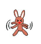 愛·癒しのウサギ1(個別スタンプ:12)