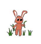 愛·癒しのウサギ1(個別スタンプ:13)