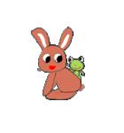 愛·癒しのウサギ1(個別スタンプ:15)