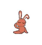 愛·癒しのウサギ1(個別スタンプ:30)
