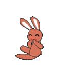 愛·癒しのウサギ1(個別スタンプ:34)