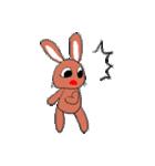 愛·癒しのウサギ1(個別スタンプ:38)