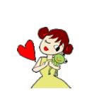 愛·癒しのお姉さん2(個別スタンプ:7)