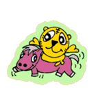ラッキータイガー(個別スタンプ:02)