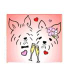 ヨーキーぽよ倶楽部Vol.2・おでかけ編(個別スタンプ:02)
