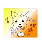ヨーキーぽよ倶楽部Vol.2・おでかけ編(個別スタンプ:5)