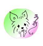 ヨーキーぽよ倶楽部Vol.2・おでかけ編(個別スタンプ:6)