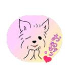 ヨーキーぽよ倶楽部Vol.2・おでかけ編(個別スタンプ:9)