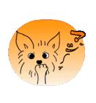 ヨーキーぽよ倶楽部Vol.2・おでかけ編(個別スタンプ:11)