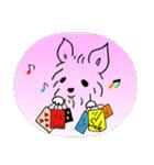 ヨーキーぽよ倶楽部Vol.2・おでかけ編(個別スタンプ:15)