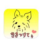 ヨーキーぽよ倶楽部Vol.2・おでかけ編(個別スタンプ:22)
