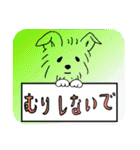 ヨーキーぽよ倶楽部Vol.2・おでかけ編(個別スタンプ:26)
