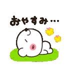 しろくまのきほん【さくらver】(個別スタンプ:02)