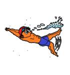 スイミング 水泳太郎(個別スタンプ:21)