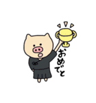 とんとん拍子(剣道ver.)(個別スタンプ:09)